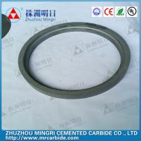 China Tungsten carbide rollers , Tungsten Carbide Die rings in Rolling Mill wholesale
