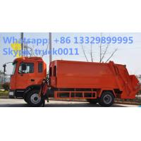 JAC 4x2 12m3 Waste Rubbish Refuse Collector Garbage Truck Manufacturer, Jac 10-12m3 garbage compactor truck for sale