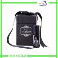 Cheap Personalized Skin Care Paper Perfume Box Packaging black Color wholesale