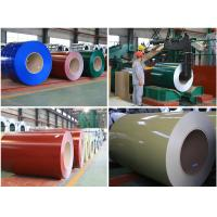China ISO9001 HDGI Hot zinc coated steel sheet / coil 835 -  1275mm Width wholesale