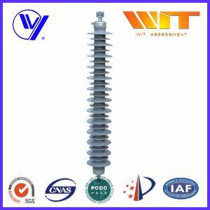 Transmission Line Composite ZnO Surge Arrester with External Series Gaps , 220KV High Voltage