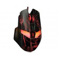 Cheap 7D Full Speed Illuminated Gaming Mouse With Adjustable Sensor Rate / USB Port wholesale