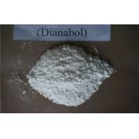 China White Oral Anabolic Steroids Dbol / Dianabol Methandienone Powder CAS 72-63-9 wholesale