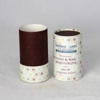 Cheap Colorful Cylindrical Kraft Paper Tube Paper Can Packaging for Cosmetics and Skin Care Products wholesale