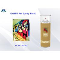 China Aerosol Acrylic Art Graffiti Spray Paint Cans for Artist with Normal , Fluo , Metallic Color wholesale