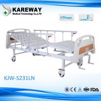 Professional Manual Hospital Bed 2 Function , Pedal Central Control Locking