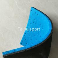 China Recycling Soccer Artificial Turf Shock Pad Wear Resisting Custom Size wholesale