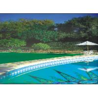 Cheap Natural - Looking 4000 Dtex 4 Gauge Artificial Grass Landscape for Sports Leisure Garden wholesale