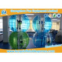 China Blue Striped Color Inflatable Bubble Soccer Human Loopy Ball CE / UL Approved wholesale