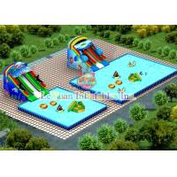 China Strong PVC Square Swimming Pool For Water Park / Advertisement / Clubs wholesale