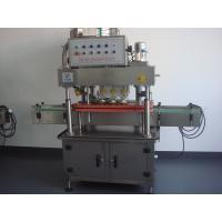 Cheap 8000b / h  Automatic In-line Bottle Capping Machine With Traditional Control Panel wholesale
