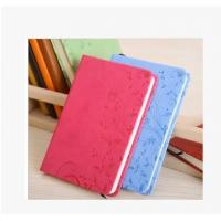Cheap Embossed Cover PU Diary Book Organizer Book Planner Book Office Notebook wholesale