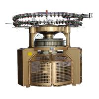 Auto Shearing Double Jersey Circular Knitting Machine , High Pile Loop Circular Knitting Machine
