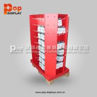 Cheap Corrugated Supermarket Promotion Chewing Gum Pallet Display with Hook wholesale