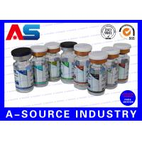 China Blue Waterproof Label Printing Pharmaceutical Label Printing For Steroid Package wholesale