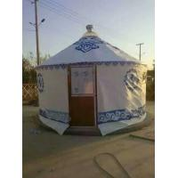 China Family Mongolian Yurt Tent With Mold - Proofing Wooden Frame Structure wholesale