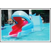 China Industrial small amusement raft rides , fiberglass pool slide for Kids Water Park wholesale