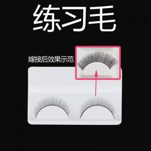 Natural Shape False Strip Eyelashes Thick False Eyelashes For Small Eyes