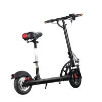 China Single Seat Two Wheel Electric Scooter , Folding Two Wheel Standing Scooter Mini wholesale