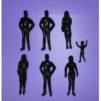Cheap 2014 new black color figure scale 1:50 Painted Model People,miniature architecture figure wholesale