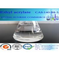 China CAS 140-88-5 Ethyl Acrylate Drug Product Intermediate With Pungent Smell wholesale