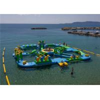 Buy cheap 0.9mm PVC Tarpaulin Funny Water Games / Adult Inflatable Floating water Park 3 from wholesalers