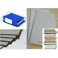 Buy cheap Arch file stationery used Grade A Grey Paper Board for book Binding from wholesalers