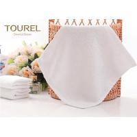China 100% Cotton White Hotel Face Towel wholesale