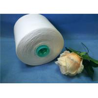 100% Spun Polyester Thread Sewing Yarn 1.25KGS / Cone , Raw White