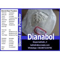 China Oral Steroid Hormone Raw Powder Methandienone / Dianabol / D-Bol Cycle CAS No. 72-63-9 wholesale