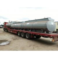 Buy cheap Chemical Road Tankers For Hydrochloric Acid With Steel Lined PE 16mm -18mm Tank Body from wholesalers