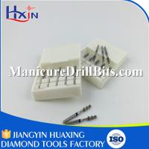 Buy cheap White Zirconia Ceramic Dental Burs , Ball Bullet Barrel Tapered Dental Accessories from wholesalers