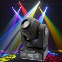 China Plastic Professional DMX512 Moving Head Light 30 - Watt  For Concert Lighting wholesale