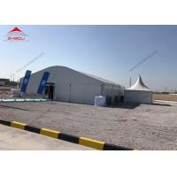 China 15 x 20m Marquee Arcum Tent 15m High Reinforce Hot - DIP Galvanized For 400 People wholesale
