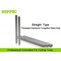 Straight Solid Tungsten Carbide Rod Screw Hole For Cutter Head