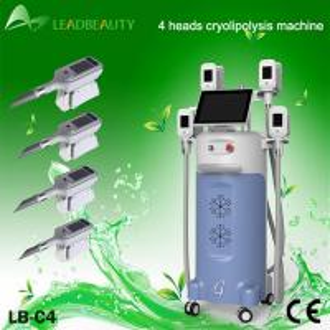 0 - 100 KPA Vacuum Cryolipolysis Slimming Machine For Weight Loss / Body Shaping