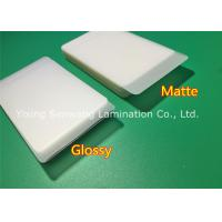 Protective Matte Lamination Film Business Card Size Laminating Pouches 250 Micron