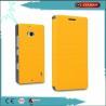 Cheap PC / PU Leather Book Flip Phone Cases For Nokia Lumia 929 / 930 wholesale