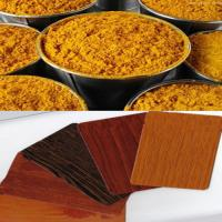 Buy cheap Thermal Transfer Color Powder Coatings With Wood Sand Texture from wholesalers
