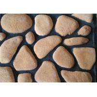6000 series Pure color aritificial culture cobble stone, for wall decoration, 60x70-155x7240mm