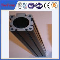 Cheap HOT!!!Export high quality of custom t slot anodized black color aluminum extrusions wholesale