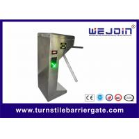 Stainless Steel Automatic Tripod Turnstile Barrier Gate For Bus Station