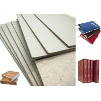 Buy cheap Hard Laminated Paper And GSM Grey Chipboard For Bookcover , 1.2mm Thickness from wholesalers