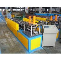 Cheap U Angle Roll Forming Machine , 6000x800x1200mm Size Metal Forming Machinery wholesale