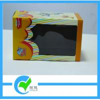 Cheap Toy Paper Cardboard Packaging Boxes with PET Window Box, CMYK 4 Color Printing wholesale