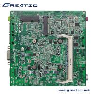 Custom Nano Industrial Fanless Motherboard Dual LAN With Processor J1900