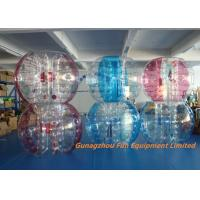 China Customized Double Inflatable Human Bubble Ball For Leisure Centre , Park wholesale