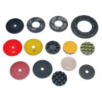 "Cheap High Working Efficiency 3 "" 4 "" 5 "" 6 "" Resin Diamond Floor Polishing Pads wholesale"