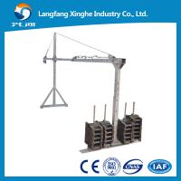 Cheap Window cleaning platform / building gondola / cradle machine / suspended rope platform wholesale