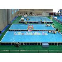 Multifunctional Metal Frame Pools , Garden Swimming Pool For Play Fun